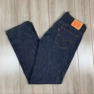 Levi's 569 32x36 Raw Denim New without tags